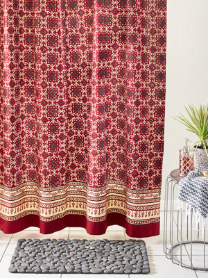 indian shower curtains batik shower
