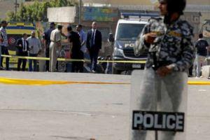 حادث قسم النزهة ضحايا ومصابين في هجوم علي دورية أمنية في محور طه حسين