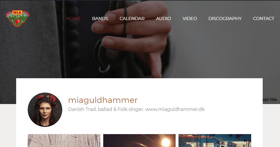 Miaguldhammer.dk