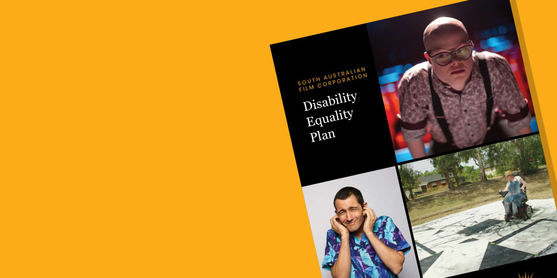 Disability Equality Plan banner