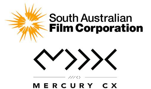 Logos: SA Film Corporation and Mercury CX