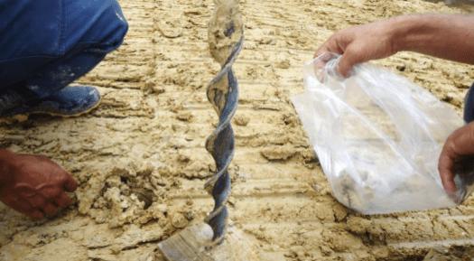 Amostragem de Matérias-Primas Cerâmicas