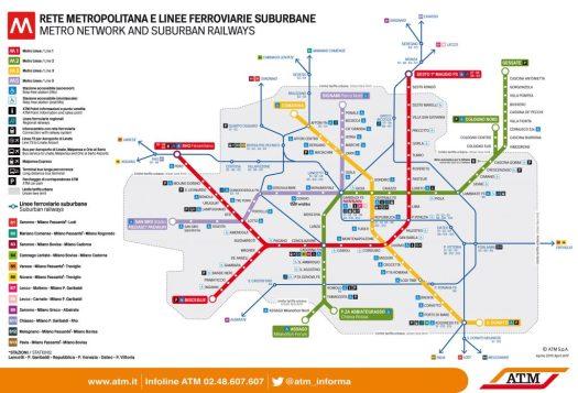 Mappa metro Safoa