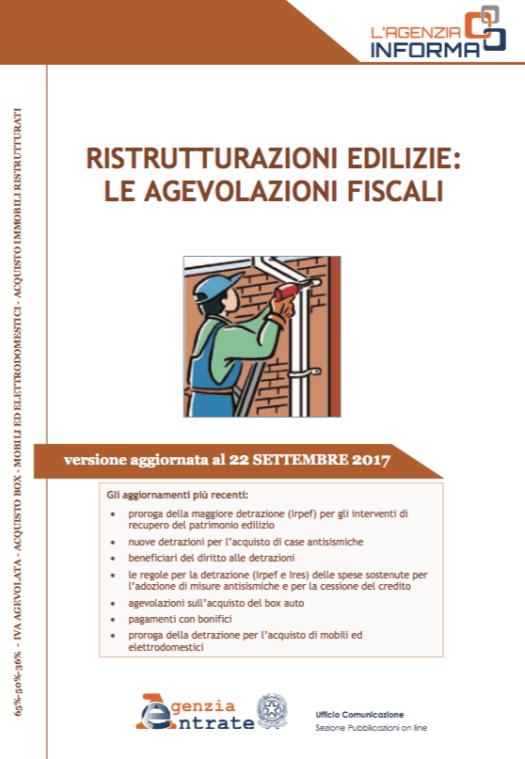 Guida bonus fiscale per le ristrutturazioni