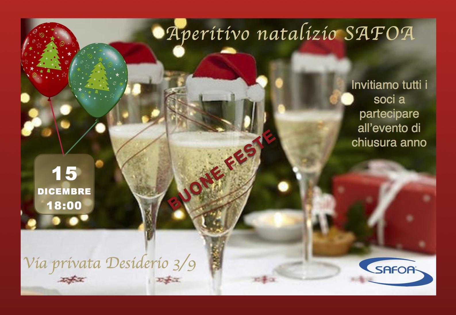 Aperitivo di Natale - Safoa