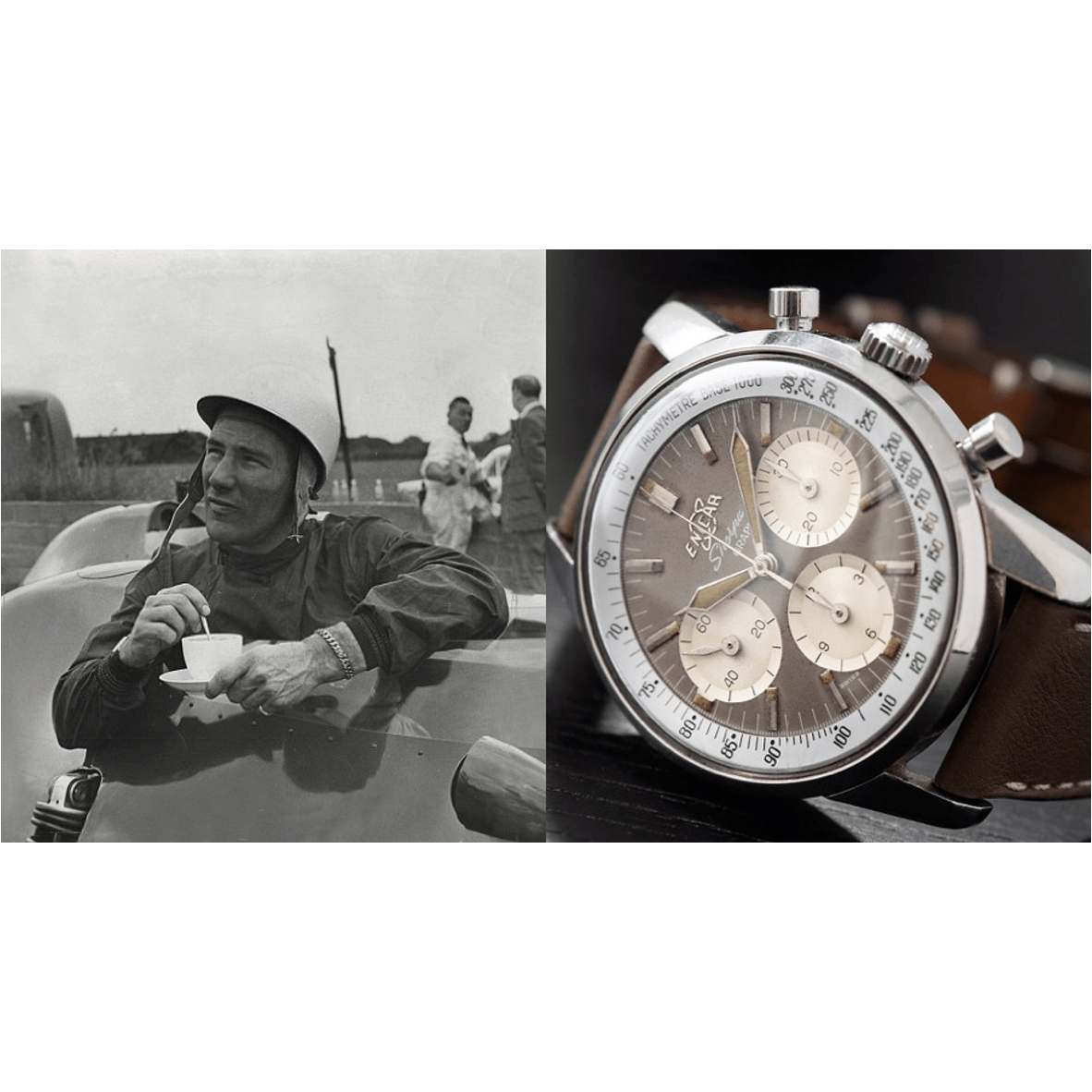 Racing Watches: Enicar & Sir Stirling Moss