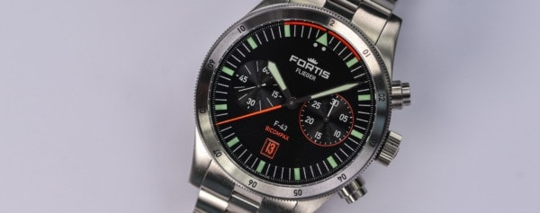 Introducing – Fortis Flieger F-43 Bicompax (Live Pics & Pricing)