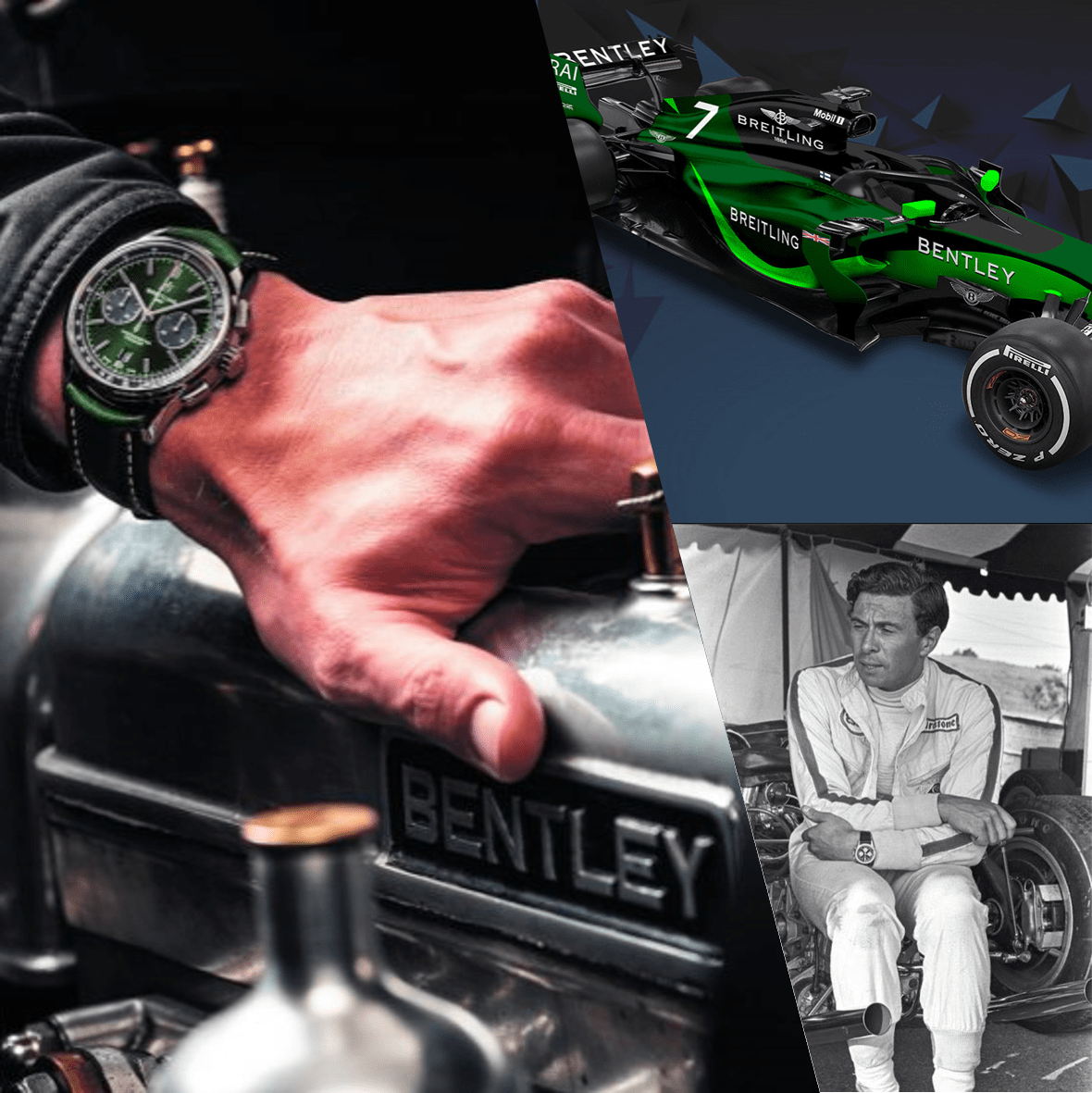 Racing Watches: Breitling & F1