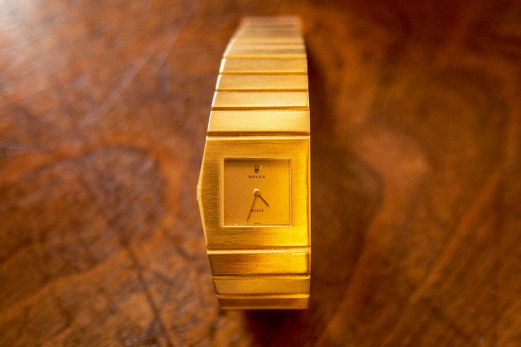 Worth Its Weight in Gold: The Rolex King Midas