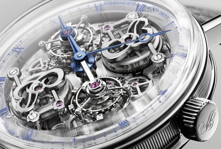 A bewitching double tourbillon at Breguet