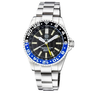 DEEP BLUE Master 500 DAYNIGHT T-100 Swiss Auto GMT