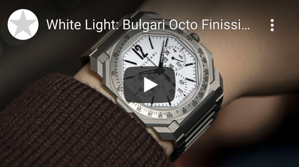 White Light: Bulgari Octo Finissimo Chronograph GMT for Revolution & The Rake