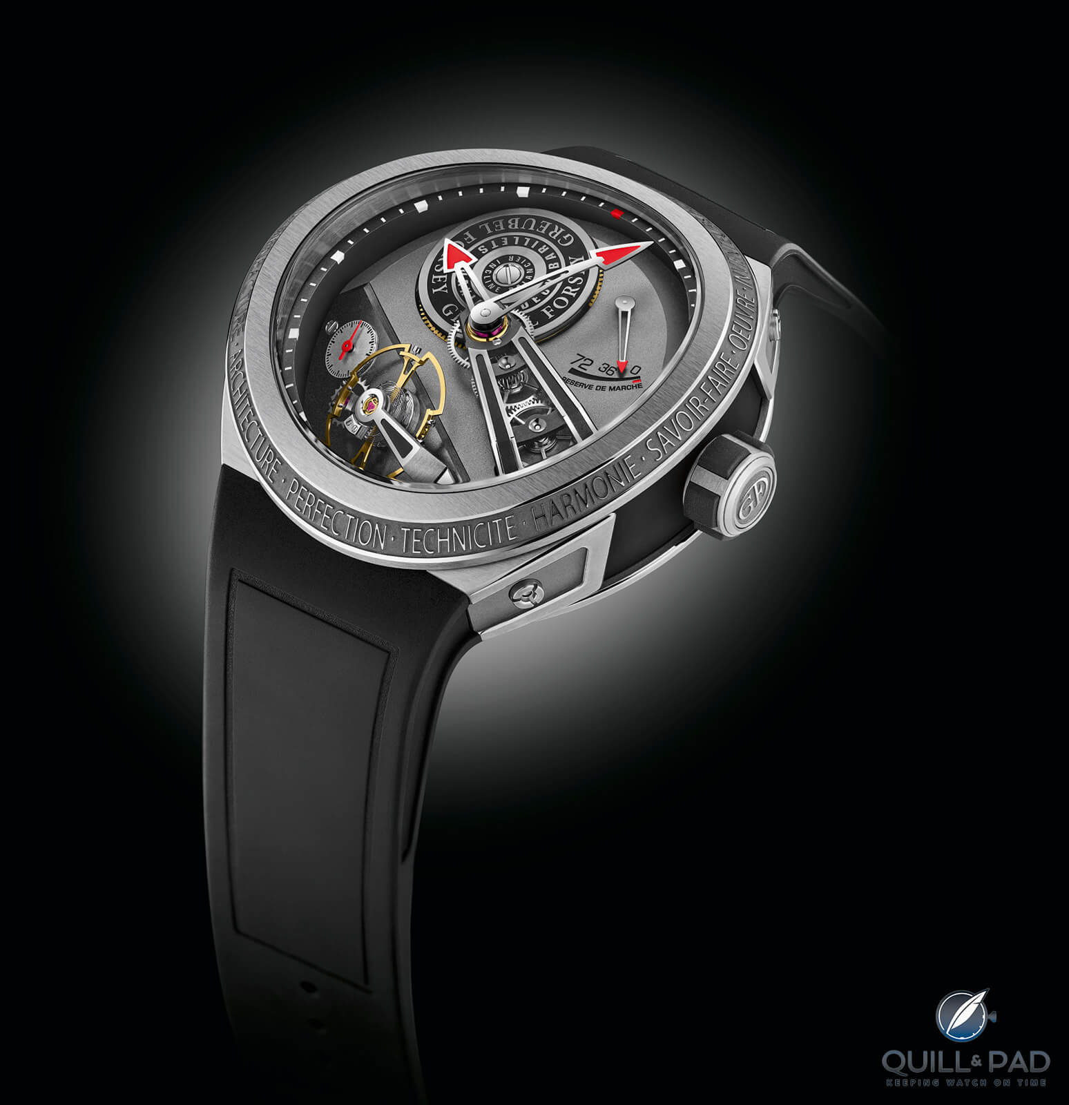 Greubel Forsey Balancier S: The New (Atypical) Shape Of Ultra-High-End Sport Watches