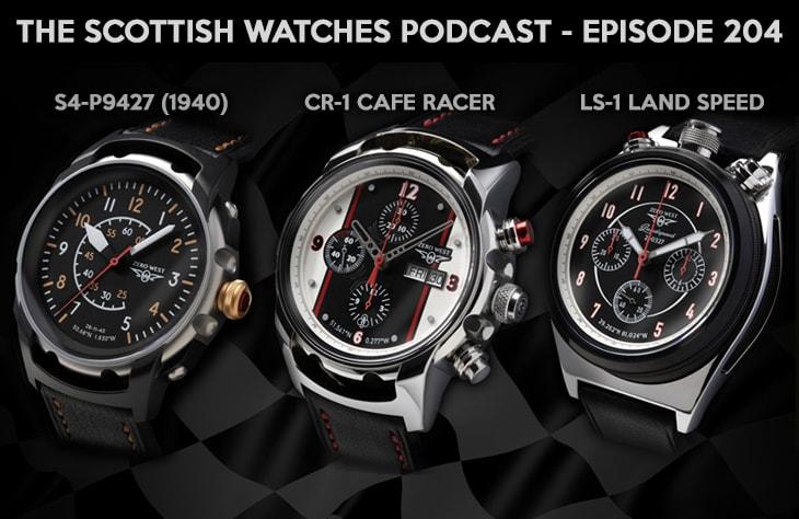 Scottish Watches Podcast #204 : Building A British Watch Brand with Zero West