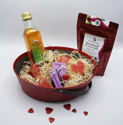 Coffret de l'amour, cadeau saint valentin 2021