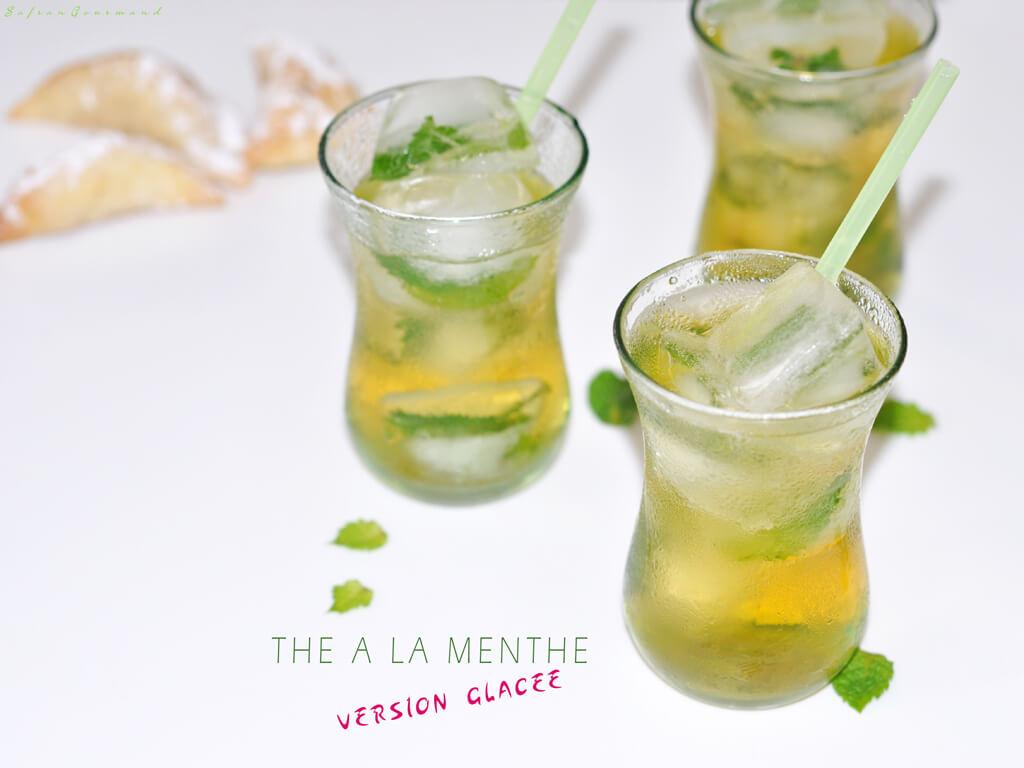 """Thé à la Menthe """"Version glacée"""""""