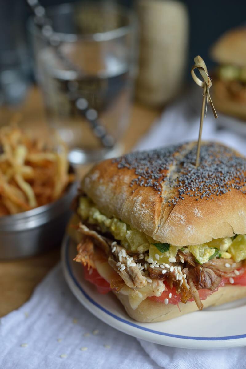 Hamburger Safran Gourmand !