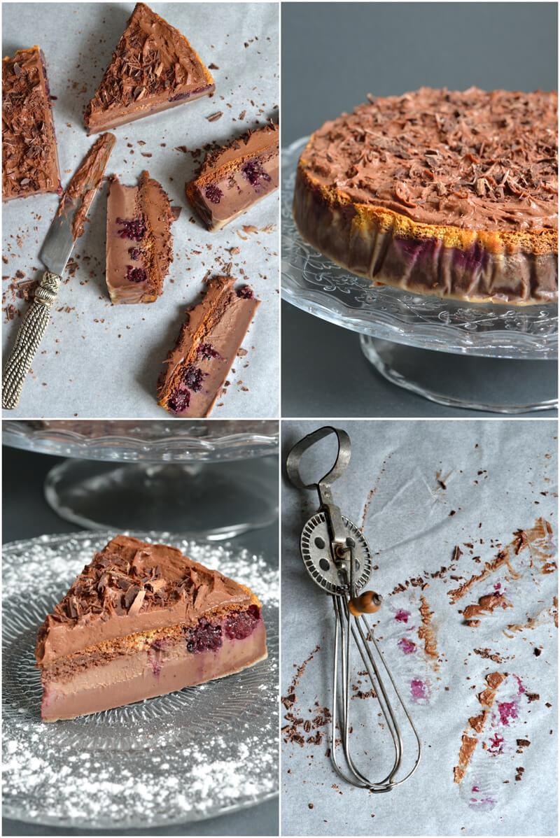 Gâteau Magique Chocolat & Mûres