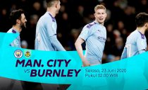 Live streaming Manchester City vs Burnley