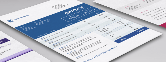 Contractor Invoice Templates for Word   Excel   Sage Canada Contractor invoice templates