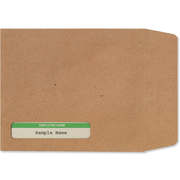 sage envelope for payslip 06215