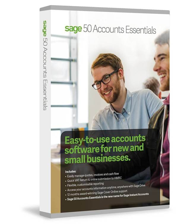 Sage 50 Accounts Essentials Perpetual Licence
