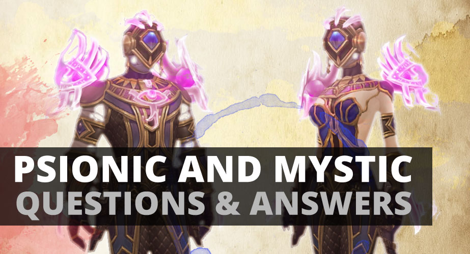 Psionic and The Mystic part II Questions & Answers | Sage