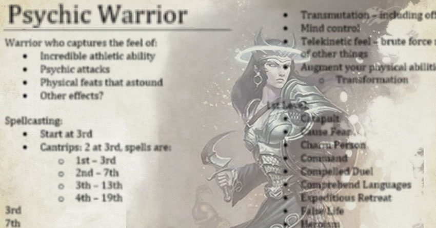 Psychic Warrior pt1 – The Mike Mearls Happy Fun Hour! | Sage Advice D&D