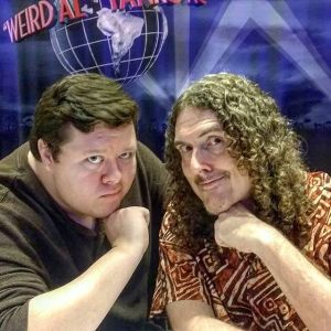 John with Weird Al