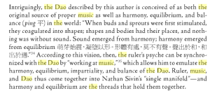 Music and the Dao