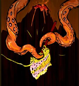 octopus volcano