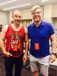 meeting Jim Butcher at the Phoenix Comic Con