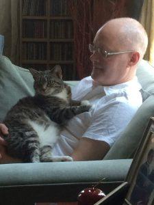 Andrew with Cat