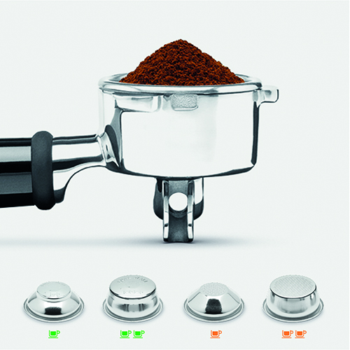 the Barista Touch™ Espresso in Brushed Stainless Steel integrated coffee grinder