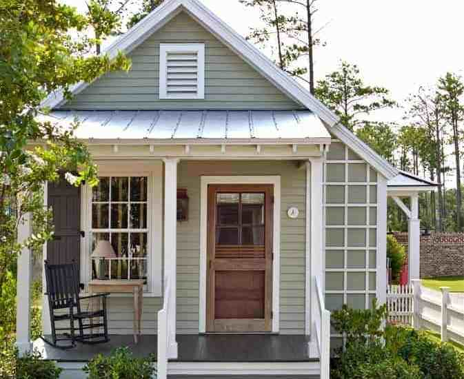what is a granny flat green small house