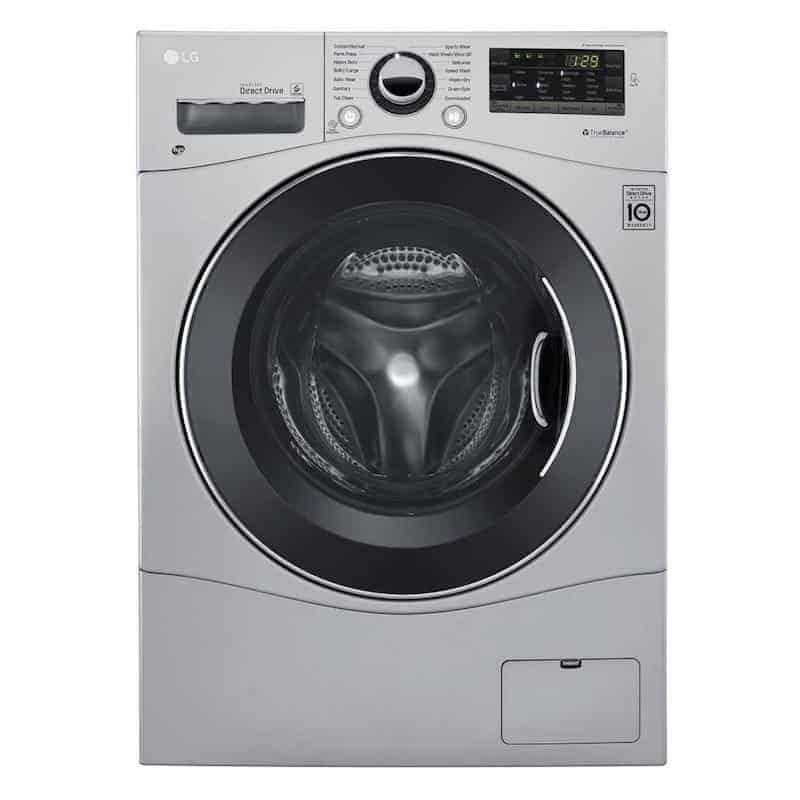 All-in-one combination front load washer dryer