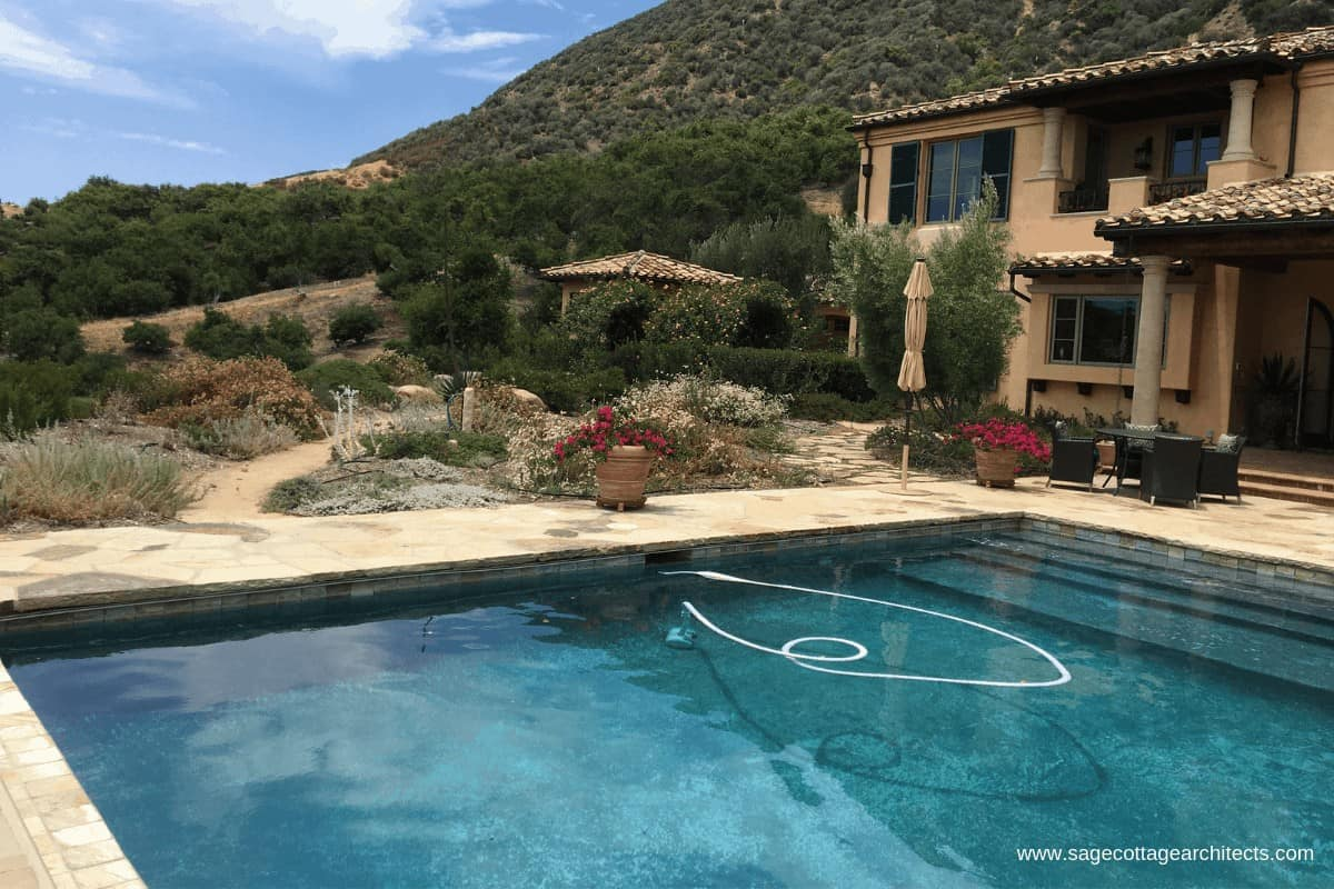 Pool and vacation home in the mountains for family vacation ideas.