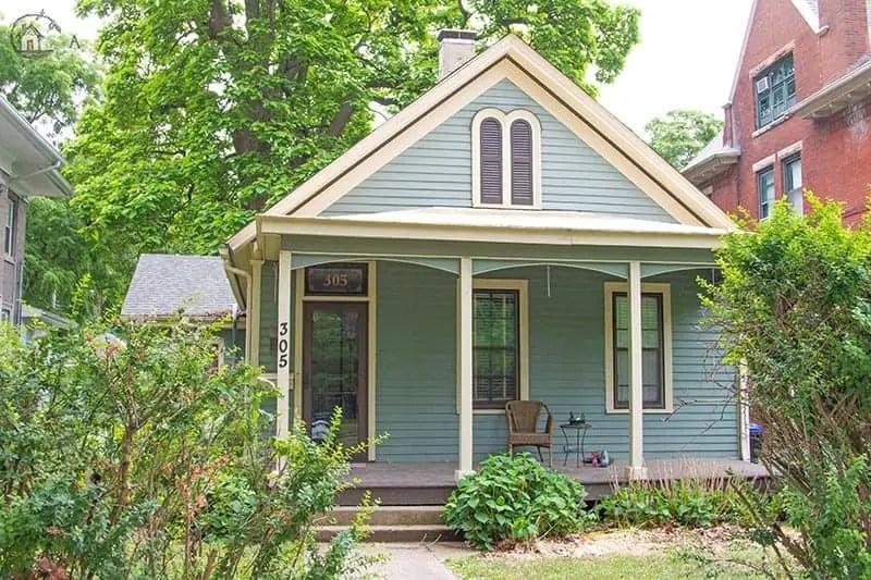 Old House Society Bloomington Illinois Annual Home Tour 2018 Franklin Park 18