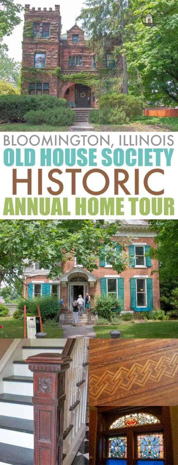 Old House Society Bloomington Illinois Annual Home Tour 2018 Franklin Park 30