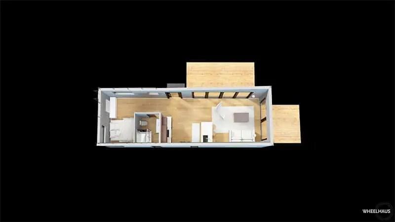 Wheelhaus Flex-Haus plan