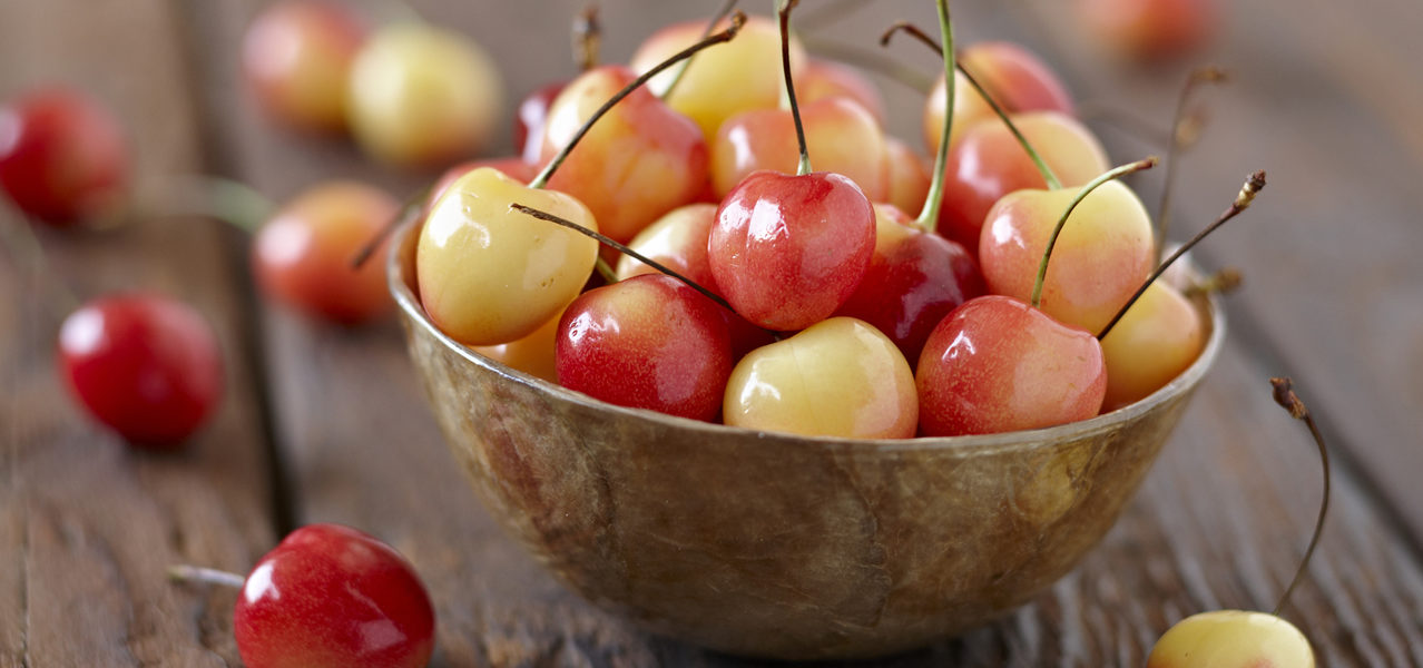 Cherries Sage Fruit