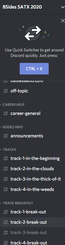Discord Channels