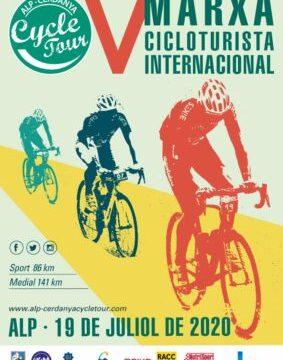 CYCLE TOUR , ALP - CERDANYA EL 19/7/2020