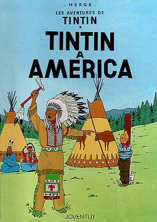 Tintín a Amèrica,  s'enfronta a la banda de gàngsters d'Al Capone, un dels pocs personatges reals que apareixen en les aventures de Tintín