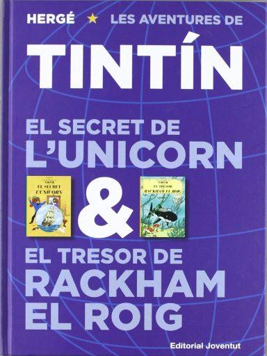 Un sol volum, EL SECRET DE L'UNICORN & EL TRESOR DE RACKHAM EL ROIG , per a dues obres.