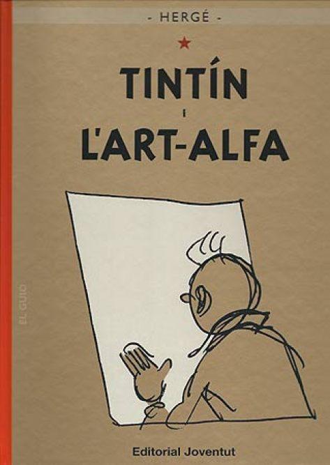 A TINTÍN I L'ART-ALFA  Hergé treballa esporàdicament, però la malaltia l'acapara i aviat creu que mai l'acabarà i serà l'últim Tintín.