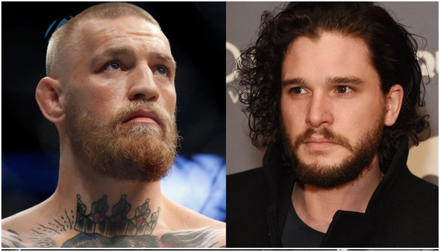 Conor McGregor and Kit Harington on Call of Duty