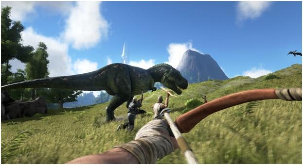 Ark survival evolved on gaming laptop
