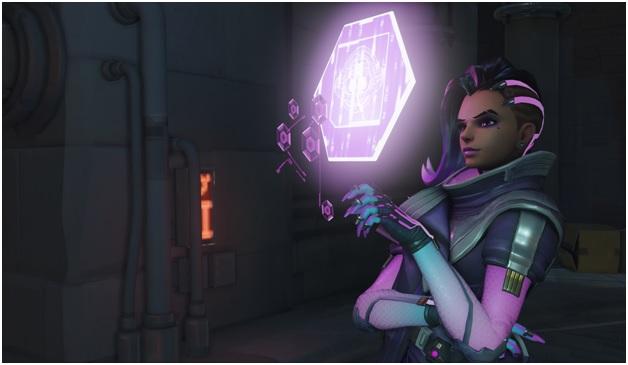 sombra on overwatch