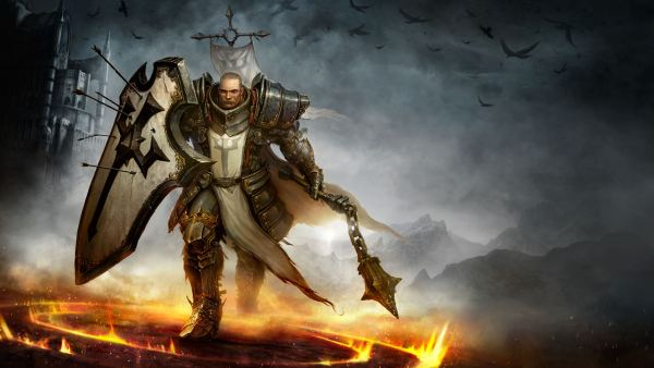 Diablo 3 Paladin Charging